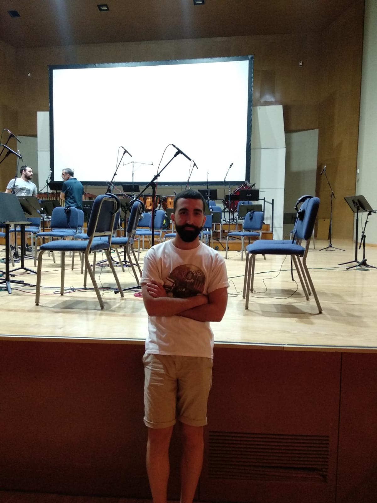 Mad4Strings Recording at Getafe's Conservatory