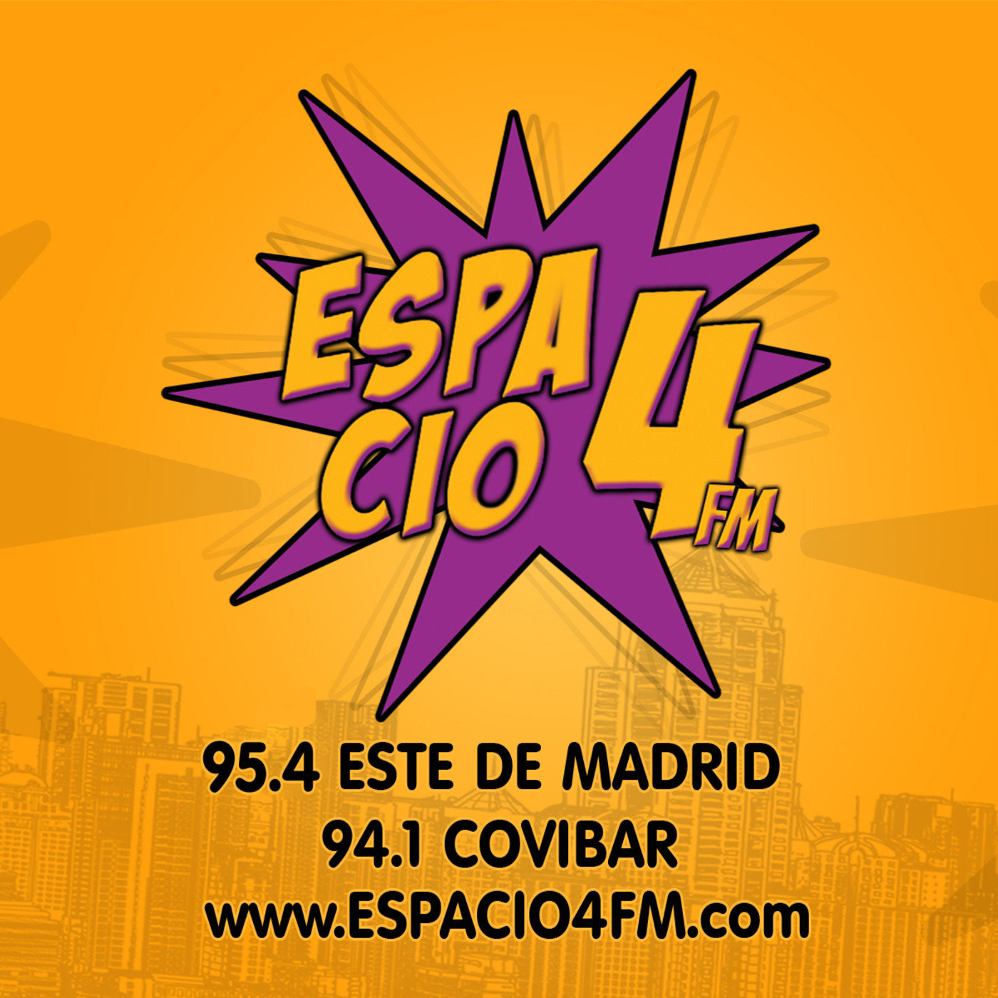 Interview at Espacio 4 FM